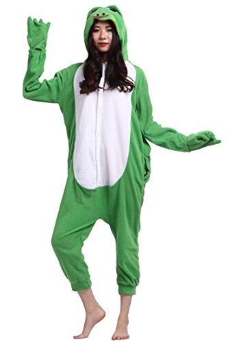 Erwachsene Unisex Cospaly Frosch Geeignet für Hohe 140-187CM (Wunderliche Halloween-kostüme)