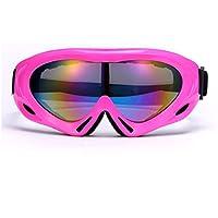 WDAKOWA Skibrille Männer Und Frauen Schutzbrillen Kinder Obdach Freilauf,H