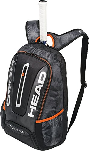 Head Tour Team Zaino per Racchette da Tennis, Unisex, Tour Team Backpack, Black/Silver