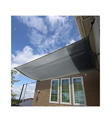 YUDEYU Pflanze Beschattungsnetz Sonnencreme Vorhang Abkühlen Lassen Isolierung Carport (Color : Gray, Size : 3x3m)