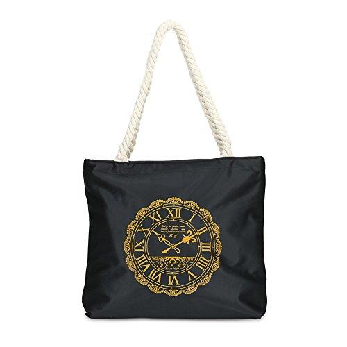 Faysting EU donna borsa a tracolla borsa a spalla canvas semplice stile borsa buon regalo san valentino A