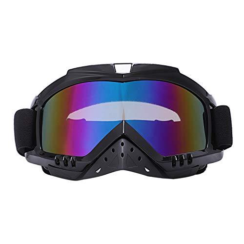 JVSISM Motorrad Brillen Brille Radfahren Mx Off Road Helm Ski Sport für Motorrad Moto Schmutz Fahrrad Rennen Brille