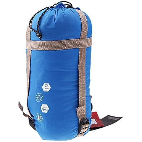 Naturehike 5 Colores Individual de algodón del saco de dormir al aire libre ligero interior ultra-ligero Saco de dormir del sobre del espesamiento Liner (azul)