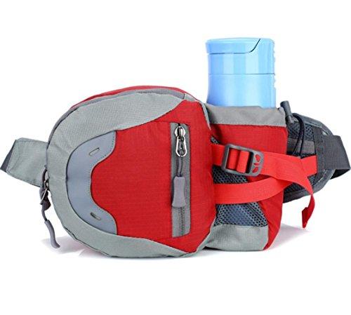 Sport Outdoor Wasser Flasche Taschen Reisen Reise Fitness Running Bag Männer Und Frauen Portable Portable Supplies Red