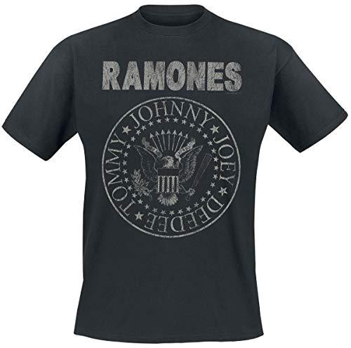 Ramones Hey Ho Let's Go - Vintage T-Shirt schwarz XXL