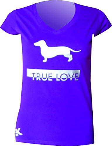 EKEKO SPORT Damen T-Shirt violett-silber