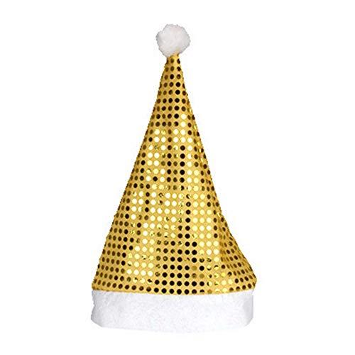 HROIJSL Weihnachts Erwachsener Party Showhut Neu Weihnachtsferien Sterne Drucken Weihnachtsmütze Vlies (Bier Kann Hunde Kostüm)