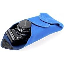 Novoflex BLUE-WRAP Stretch-Einschlagtuch (Kamera-Schutzhülle) - Gr. M (28 x 28 cm) - z.B. für ein DSLR-Gehäuse, für eine spiegellose Systemkamera mit einem Pancake-Objektiv, für einen Aufsteckblitz oder für einen kleinen Tablet-PC wie das iPad Mini.