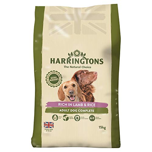 Harrington der Hund Futter komplett Trocken Mix ( lamb and rice )15kg