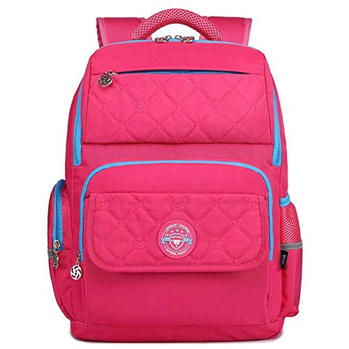 ZEYUE Kinderrucksack, Schultasche Klasse 2-4-6, Grundschulrucksack, Herren- Und Damenrucksack, wasserdichte Tasche, Reflektierende Streifentasche