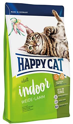 Happy Cat Indoor Adult Weide-Lamm, 1er Pack (1 x 4 -