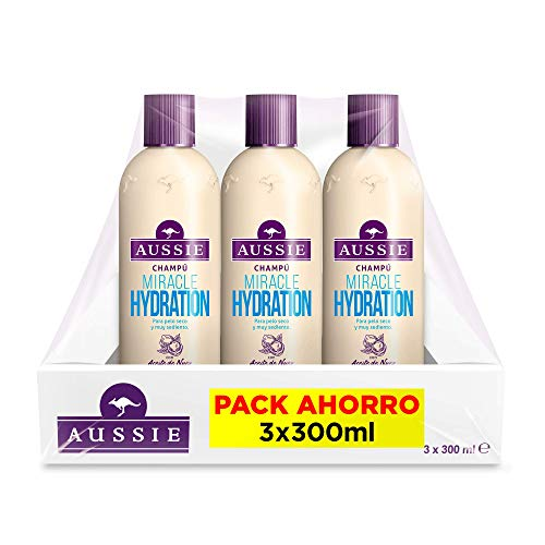 Aussie Miracle Hydration - Champú Pelo Muy Seco 3