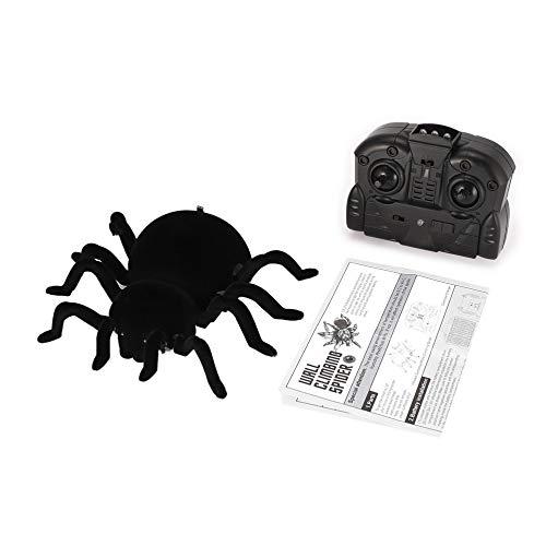 mimagogy Fernbedienung Klettern Realistische Spinne RC Prank Insekt Scary Trick-Spielzeug-Geschenk