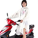 BOLAWOO Regenmantel Elektro Fahrrad Einzigen Poncho Mode Unifarben Hut Outdoor Mit Mode Marken Kapuze Wasserdicht Regencape Regenjacke (Color : 1, Size : One Size)