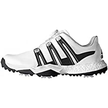 big sale 5a431 cd1e4 adidas Powerband Boa Boost WD, Zapatos de Golf para Hombre, BlancoNegro