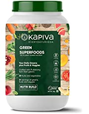 Kapiva Green Superfoods Nutrition Powder, 1 KG, Builds stre