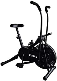 Evoke Ojas -110T Blend Exercise Cycle with Moving Handles and Twister, perfect fitness bike for home gym