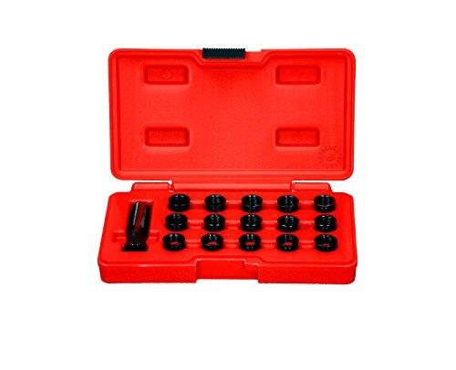 Zündkerzen Gewinde Reparatur Werkzeug Gewindebohrer Set M14 x 1,25 Satz Neu
