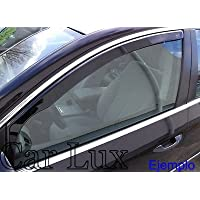 Car Lux NAR03751 - Derivabrisas Deflectores de viento delanteros