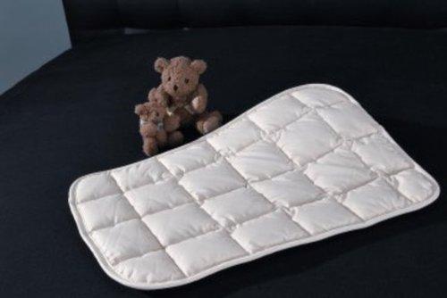Cotonea Baby Kissen Maya, aus 100 % reiner Bio Baumwolle kbA, bei 40 ° waschbar, 40x60cm