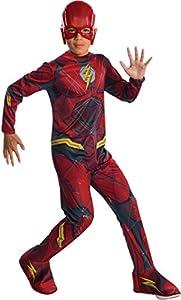 Marvel - Disfraz de Flash superhéroe para niños, infantil 8-10 años (Rubie