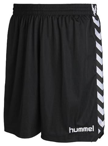 Hummel stay authentic short en polyester pour enfant Noir noir 10-12(140-152)
