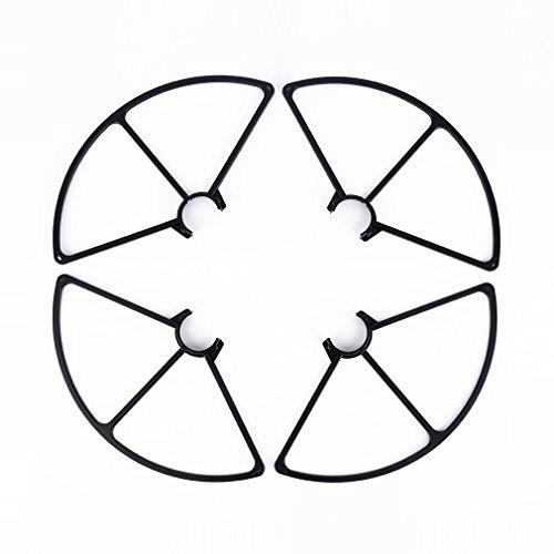 MagiDeal Schwarz Kunststoff Prop Blatt Prop Guards Propeller Schutz für Yuneec Q500 Quadcopter (Propeller Guard)