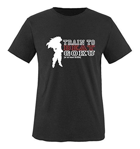 Comedy Shirts - Train to beat Goku. Or at least Krillin - Herren T-