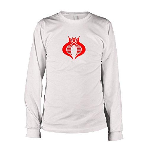 TEXLAB - Decobracons - Langarm T-Shirt, Herren, Größe XXL, weiß