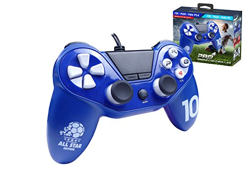 Mando Pro4 fútbol cable - Accessorio compatible PS4