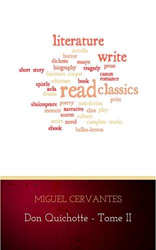 Couverture du livre L'Ingénieux Hidalgo Don Quichotte de la Manche - Tome II