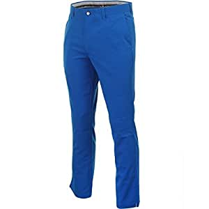 2015 Callaway Chev Lightweight Tech Flat Front Mens Golf Trousers Magnetic Blue 36x32