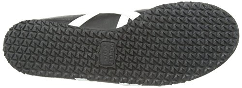 Onistuka Tiger Mexico 66- Sneakers Basses Mixte adulte Noir (black/white 9001)
