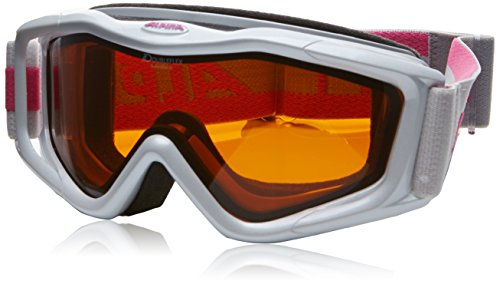 Alpina Bonesider D Damenskibrille (Farbe: 112 perlweiß, Scheibe: DOUBLEFLEX Hicon)