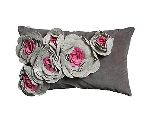 Pad housse de coussin Magnolia, Coton, rose, 30x50