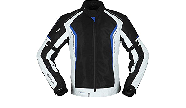 Modeka Khao Air Motorrad Textiljacke Schwarz Grau Blau M Auto