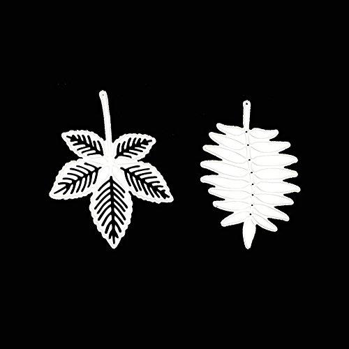 Berrose-stanzschablonen stanzer stempelkissen motivstanzer motivlocher klebepads Schablone DIY kreative Druckform, Kinder handgemachte Arbeit holzschablonen Weihnachten für Eiskristalle