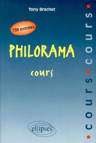 Philorama: Cours