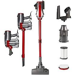 Balter Vento H2 aspirateur balai sans sacs ✓ technologie cyclonique ✓hauteur télescopique ✓puissance de 600 W ✓ fixation murale ✓ faible bruit ✓ filtre Hepa ✓ léger ✓ Hygiène