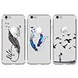 Coque pour iPhone 6 Plus/iPhone 6S Plus TPU, GuardGal Gel Flexible Doux Motif...