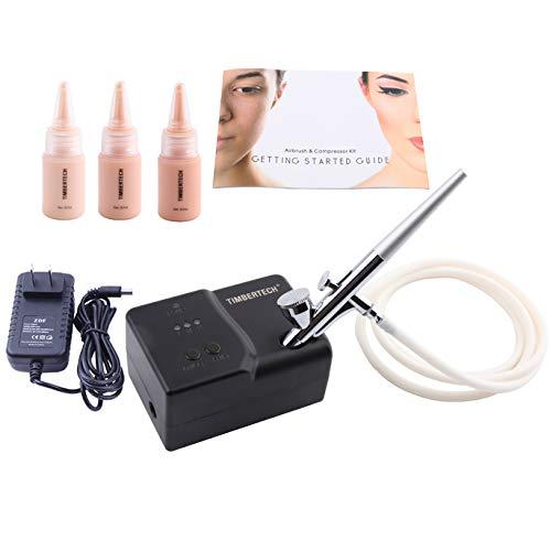 Timbertech Basic Makeup System MK-100 mit foundation Airbrush Makeup Revolution. Einfach, sauber und schnell zum perfekten Makeup -