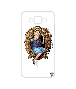 Vogueshell Mirror Queen Printed Symmetry PRO Series Hard Back Case for Samsung Galaxy Grand Max
