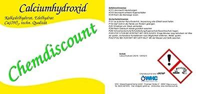 1 kg Calciumhydroxid Ca(OH)2, techn., versandkostenfrei! von WHC WasserHygieneChemie GmbH auf Du und dein Garten