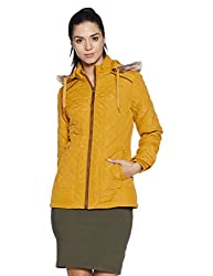 Fort Collins Womens Cape Hoodie (6632 AZ_mustard_M)
