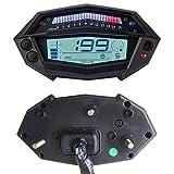 Nosii Indicatore dell'ingranaggio del contachilometri tachimetro Digitale del Motociclo per la Parte Kawasaki Z1000