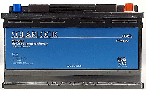 Preisvergleich Produktbild SolarLock 12.8V 80Ah Lithium-Eisenphosphat-Batterie (LiFePO4)