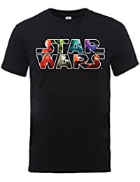 Star Wars Star Wars Vii The Force Awakens Heroes And Villians Logo - Camiseta para hombre