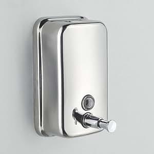 800 ml edelstahl wandmontage seifenspender lotionspender startseite k che dusche. Black Bedroom Furniture Sets. Home Design Ideas