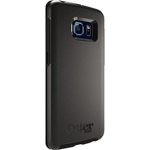 OtterBox Symmetry sturzsichere Schutzhülle für Samsung Galaxy S6 Edge, Schwarz