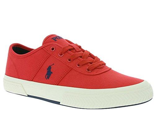 Polo Ralph Lauren Tyrian Hommes Sneaker Rouge A85 XZ4YZ XY4YZ XW4RH Rouge